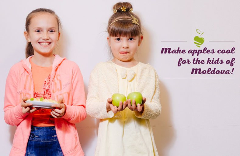 Make Apples Cool: the Moldovan food initiative upping kids' fruit intake