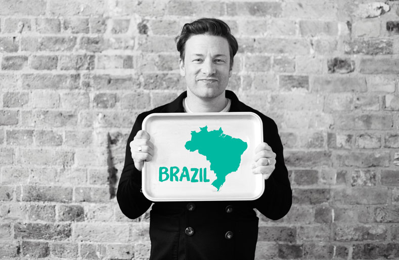 The global spotlight is on Brazil – it's time for the Food Revolution to really kick in