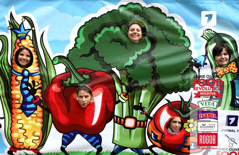 A star studded Food Revolution in Moldova!