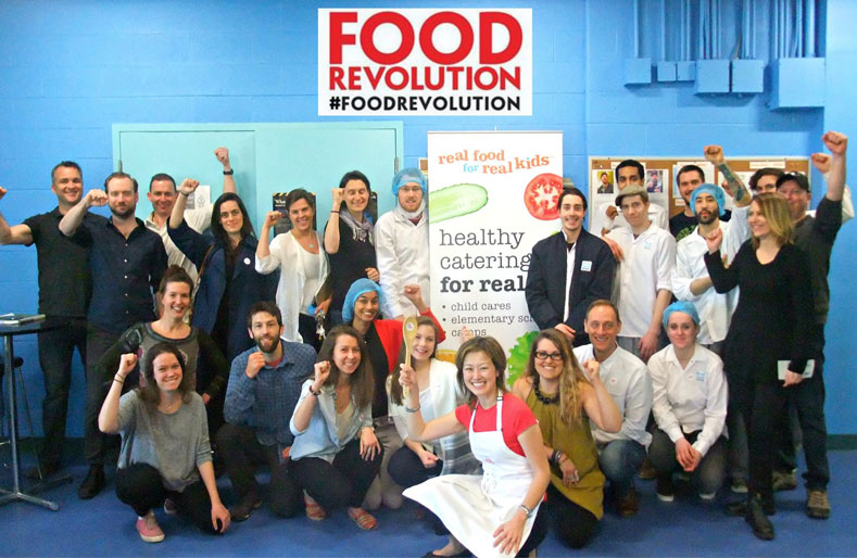 Real food for real kids: Food Revolution events in Toronto, Canada