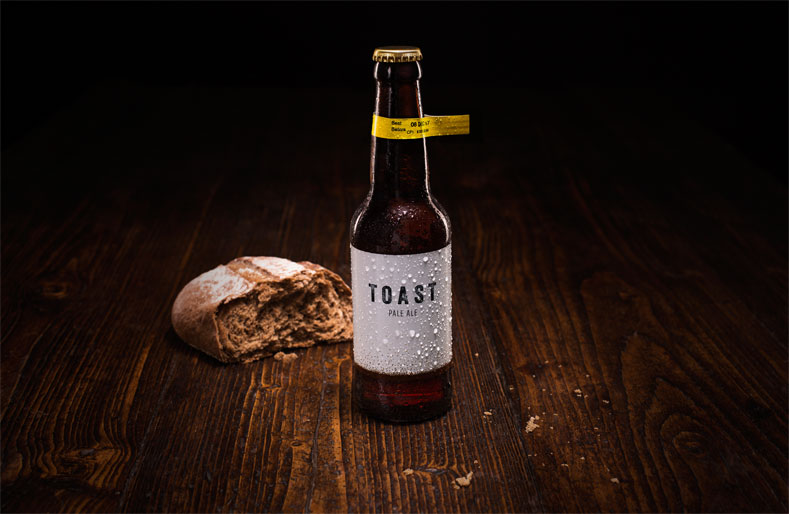 Making beer from wasted bread, we'll toast to that!